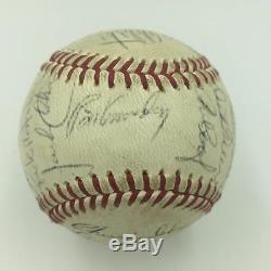 1968 Reggie Jackson Rookie Oakland Athletics A's Team Signed Baseball JSA COA