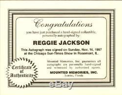 1969 Oakland Athletics Reggie Jackson Autographed Jersey NEW Mitchell & Ness COA