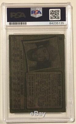 1971 Topps REGGIE JACKSON Signed Autograph Baseball Card PSA/DNA #20 Oakland As