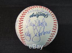 1978 Yankees Team Signed Rawlings Baseball Jackson Guidry Gossage Randolph +16