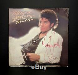 1982 Michael Jackson Thriller Signed Album King Of Pop Auto Autograph Psa/dna