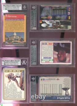 1989 Score Supplemental #384S Bo Jackson AUTO SIGNED Autograph Card BGS Beckett