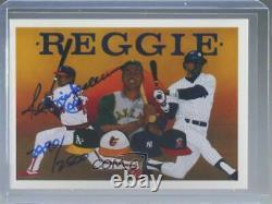 1990 Upper Deck Baseball Heroes /2500 Reggie Jackson (Autographed) #9.2 Auto HOF