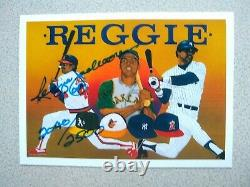 1990 Upper Deck Jackson Heroes Autographed #9 Reggie Jackson Auto Out Of 2500