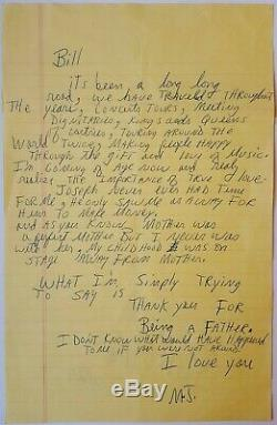 1992 MICHAEL JACKSON amazing heartfelt autographed letter signed after Beatles