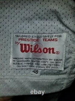 1995 Game Issued Wilson San Francisco 49ers Rickey Jackson Jersey Size 48 Signed