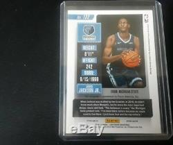 2018-19 Contenders Jaren Jackson Gold Rookie Ticket Auto 1/10. First 1 signed