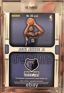 2018-19 Panini Contenders Jaren Jackson Jr. Rookie RC AUTO /25 SSP Grizzlies