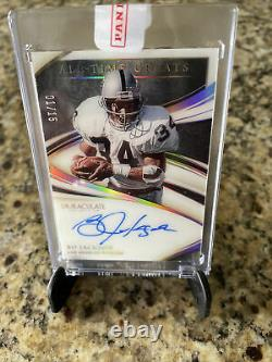 2020 Immaculate Football Bo Jackson #1/15 All Time Greats Auto Gold
