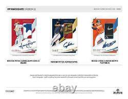 2021 Panini Immaculate Baseball Hobby Box Brand New Free Priority Shipping