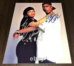 2Pac Tupac Shakur & Janet Jackson Signed Certified Photo Autograph Signature