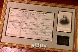 ANDREW JACKSON AUTOGRAPH 1831 Land Grant SIGNED As PRESIDENT BAS