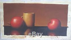 Al Alfred Jackson Original Oil Painting Still Life
