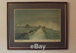 Ashley Jackson Farms Along Perseverance Rd Signed Limited Edition Print 21/850