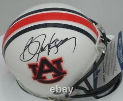 Auburn BO JACKSON Signed Mini Helmet AUTO Raidcers Tigers Heisman BCA