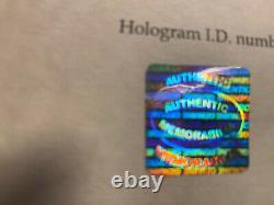 Authentic signed Michael Jackson picture