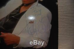 Autographed Michael Jackson Thriller Album