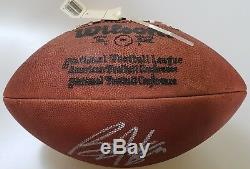 BO JACKSON AUTOGRAPHED SIGNED NFL LEATHER FOOTBALL RAIDERS Auto JSA Vintage Rare