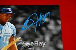 BO JACKSON Kansas City Royals autographed signed 11x14 photo Beckett COA