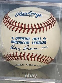 BO JACKSON Signed In Pen Autographed Rawlings OML Baseball Royals With COA