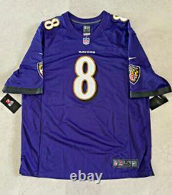 Baltimore Ravens Lamar Jackson Autographed Nike Jersey Fanatics Hologram JSA COA