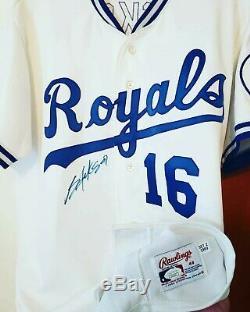Bo Jackson 1989 Kansas City Royals Authentic Autographed Auto'd Game Jersey