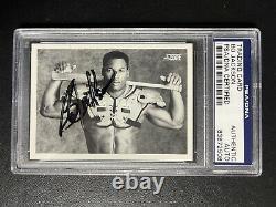 Bo Jackson 1990 Score #697 Signed AUTO Bo Knows RARE PSA/DNA