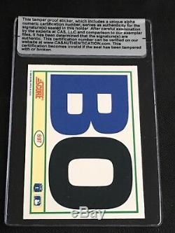Bo Jackson 1990 Score Bo Knows Signed Autographed Card Royals Cas Authentic