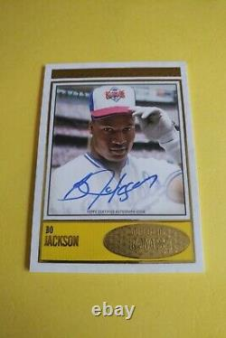 Bo Jackson 2018 Topps The Brooklyn Collection Autograph Auto