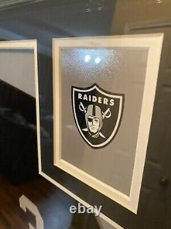 Bo Jackson Authentic Autographed Framed Jersey COA Beckett Raiders NFL
