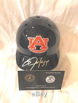 Bo Jackson Autograph Signed Auburn Baseball Mini Helmet Includes Coa