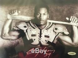 Bo Jackson Autographed 8x10 Photo Auto Beckett BCW M, 1577 114