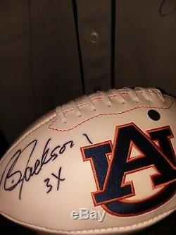 Bo Jackson Autographed Auburn Football