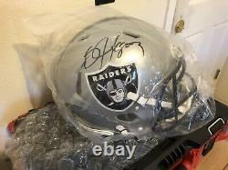Bo Jackson Autographed Authentic Full Size Proline Speed Helmet With Beckett COA