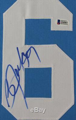 Bo Jackson Autographed & Framed Blue Royals Jersey Auto Beckett COA (D1-L)