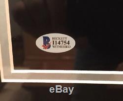 Bo Jackson Autographed Framed Tecmo Bowl 16x20 Photo Raiders Beckett & GTSM