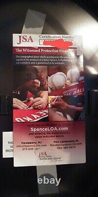 Bo Jackson Autographed Full Size Chrome Raiders Riddell Helmet JSA COA