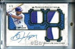 Bo Jackson Autographed / Game Used Jersey Topps Card