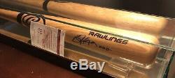 Bo Jackson Autographed Hand Signed Pro Wood Baseball Bat Jsa