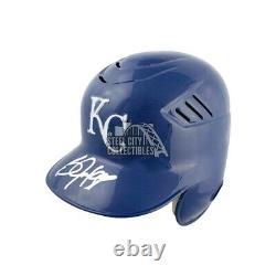 Bo Jackson Autographed Kansas City Royals Batting Baseball Helmet BAS COA