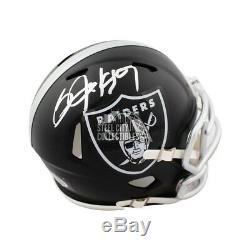 Bo Jackson Autographed Oakland Raiders Blaze Mini Football Helmet BAS COA
