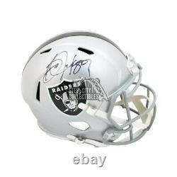 Bo Jackson Autographed Oakland Raiders Speed Full-Size Football Helmet BAS COA