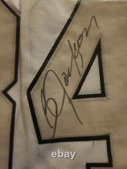 Bo Jackson Autographed Oakland Raiders White Jersey Beckett COA