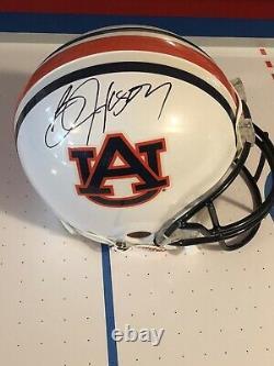 Bo Jackson Autographed Riddell Auburn Full Size Helmet
