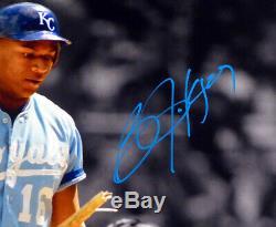 Bo Jackson Autographed Signed 16x20 Photo Kansas City Royals Beckett Bas 147620