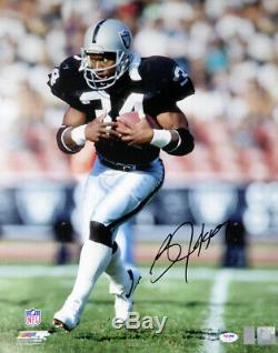 Bo Jackson Autographed Signed 16x20 Photo Oakland Raiders Psa/dna 113562