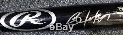 Bo Jackson Autographed Signed Black Rawlings Bat Royals Beckett Bas 113788