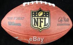 Bo Jackson Autographed Signed NFL Leather Football Raiders Beckett 125133