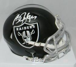 Bo Jackson Autographed Signed Oakland Raiders Blaze Speed Mini Helmet Gtsm