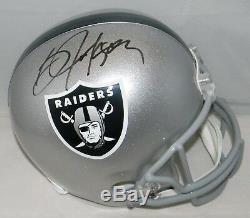 Bo Jackson Autographed Signed Oakland Raiders Full Size Helmet Jsa + Holo